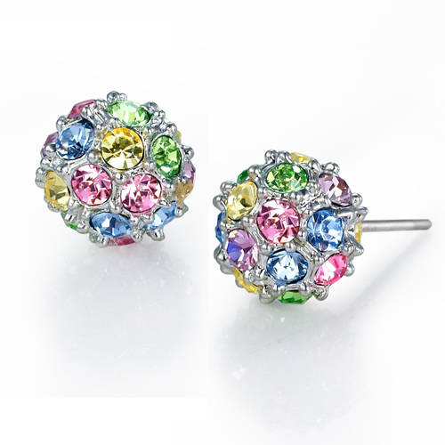 Color Diamonds Spherical Earrings Grxjy530015